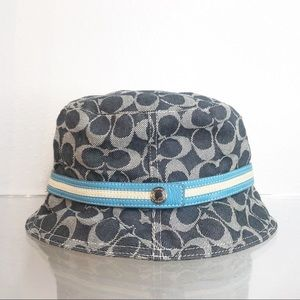 Coach Denim Bucket Hat